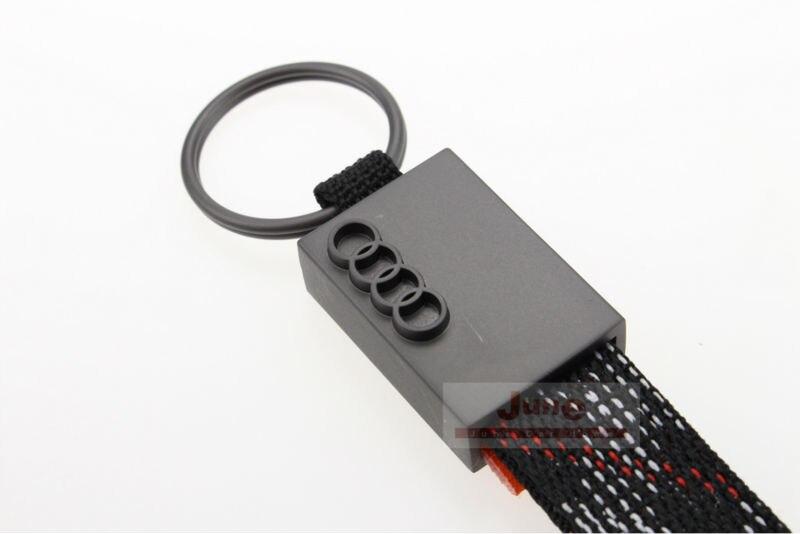 Pcslot Key Ring Keychain Audi Metal Fabric Key Chain Audi - Audi keychain