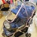 Venda quente Carrinho de bebê Capa de Chuva Carrinho de Montagem Universal Escudo Poeira Vento Proteção Acessórios Carrinho De Capa de Chuva