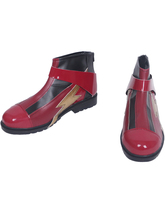 Justice League Flash Cosplay Shoes Halloween Fancy Boots Custom Made