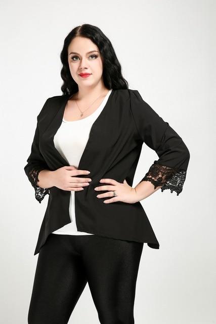 Sexy plus size jackets