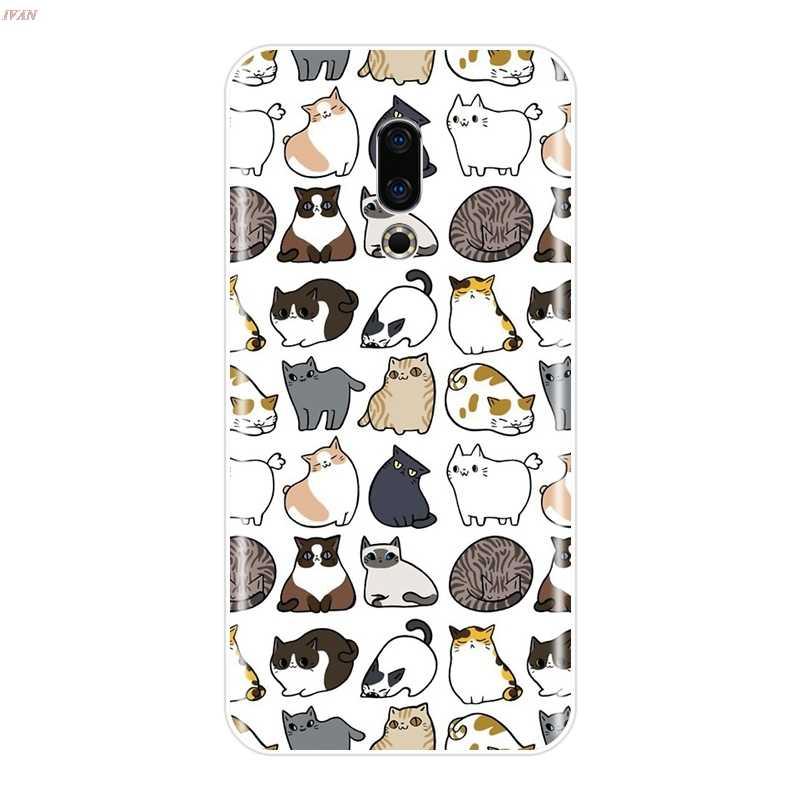 Etui na telefony dla Meizu 15 Lite 16 Plus 16th 16x Coque Fundas dla Meizu U10 U20 Pro 6 7 Plus silikonowe miękki tylna pokrywa