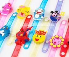 12PCS  Hello Kitty minions Glow wrist bracelet  birthday party decoration kids baby shower party favors girl boy gift supply