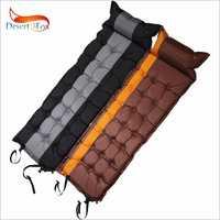 Wüste & Fox 1 pc Self-Aufblasen Schlafen Pads mit Air Kissen, 186x62 cm Zelt Luft Matratze Tragbare Leichte Schlaf Pads