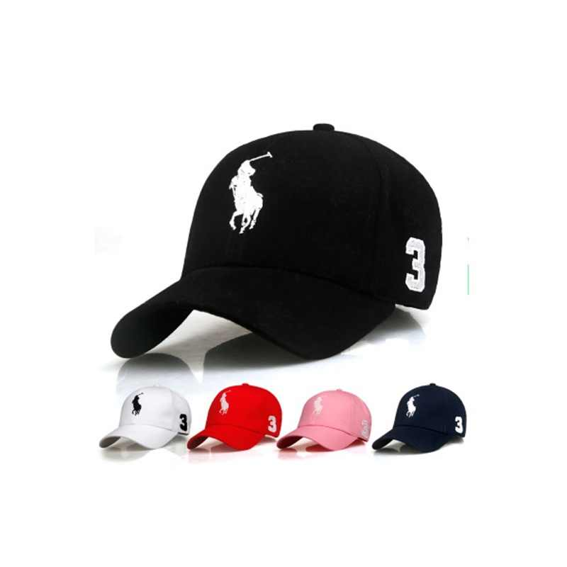 2019 New Spring and Summer Models Fashion Embroidered Cotton Baseball Cap Adjustable Sun Hat Sports Baseball Cap