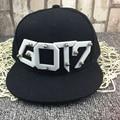 Kpop Bambam Jackson Got7 JB Mark YoungJae YuGyeom tampão da forma chapéu harajuku ulzzang cap