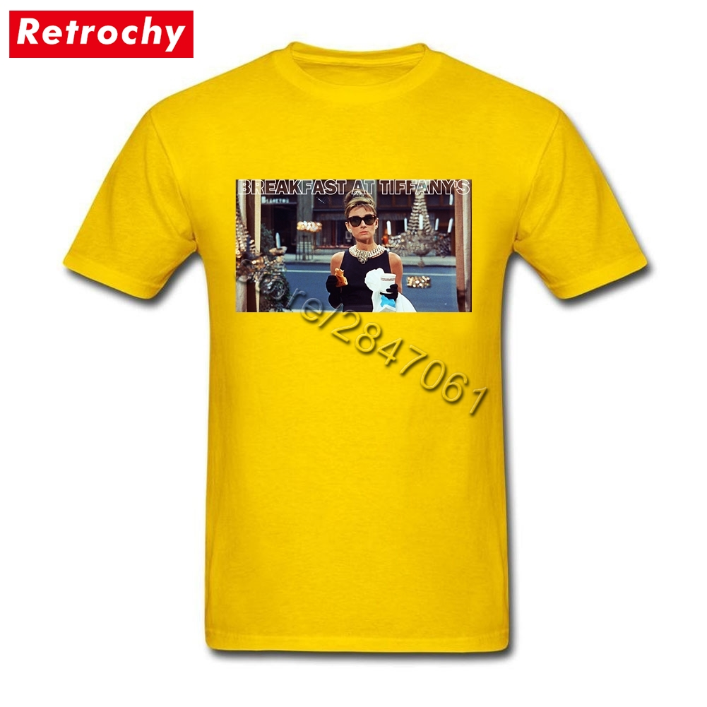 f06106c315c Large and Tall Band Merch Audrey Hepburn Tee Breakfast T Shirt Mens Simple  Fashion Brand Short Sleeve Men Summer 1960S Clothing-in T-Shirts from Men s  ...