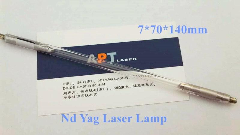ND YAG laser xenon lampe 7*70*140 installiert in q switched ND YAG griff/handstück-in Kulturbeutel-Kits aus Haar & Kosmetik bei AliExpress - 11.11_Doppel-11Tag der Singles 1