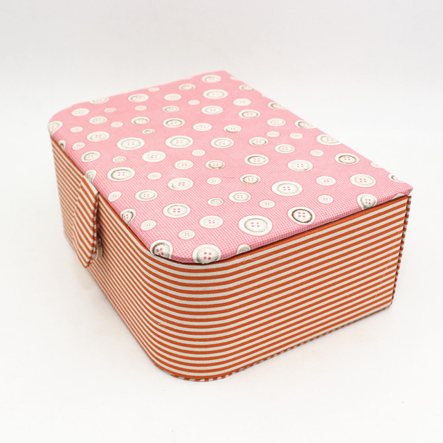 Household Sewing Thread Storage Box organizer Empty Box Cloth Hand Storage Jewelry Sewing Storage Finishing Boxes