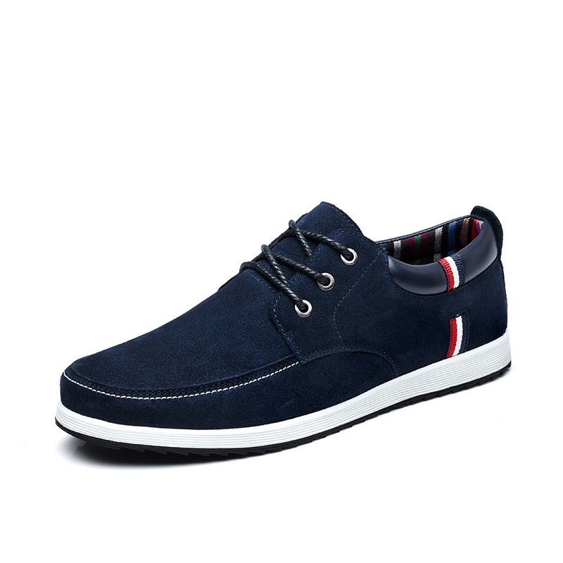 SUROM Sneakers Leisure Skateboarding Shoes For Mens 2018 Summer Lace Up Breathable Light Weight Comfortable jogging Men shoes