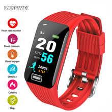 LIGE Sport Smart Bracelet Women Fitness Tracker Pedometer Bluetooth Call Reminder Waterproof Smart Watch Men For ios Android+Box clock ogeda smart men watch ex28 waterproof bluetooth wristwatch sport pedometer stopwatch call sms reminder for ios android