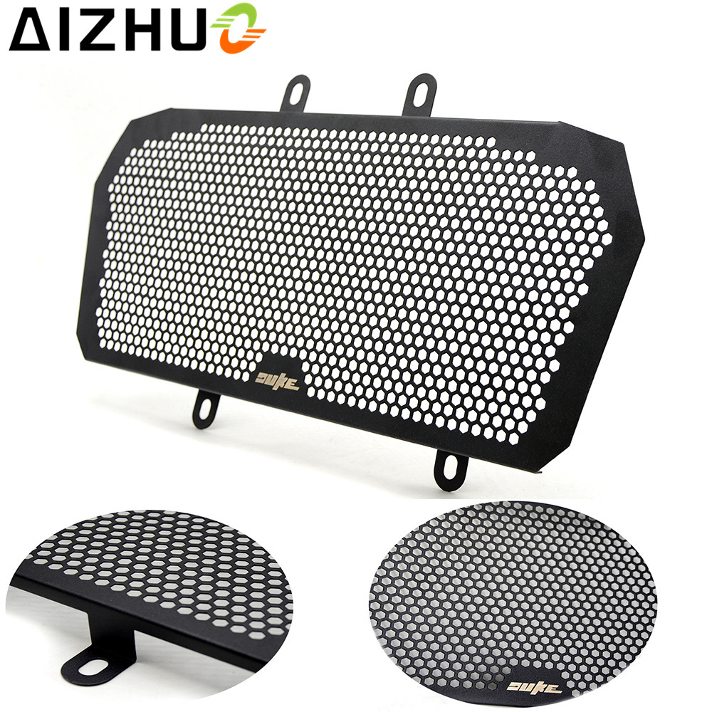 For KTM DUKE 390 2013-2016 Radiator Grille Guard Cover motorcycle accessories motorbike Aluminum alloy Radiator Guard protector cnc aluminum motorcycle accessories chain guard cover protector orange for ktm duke 125 200 all year 390 2013 2014 2015