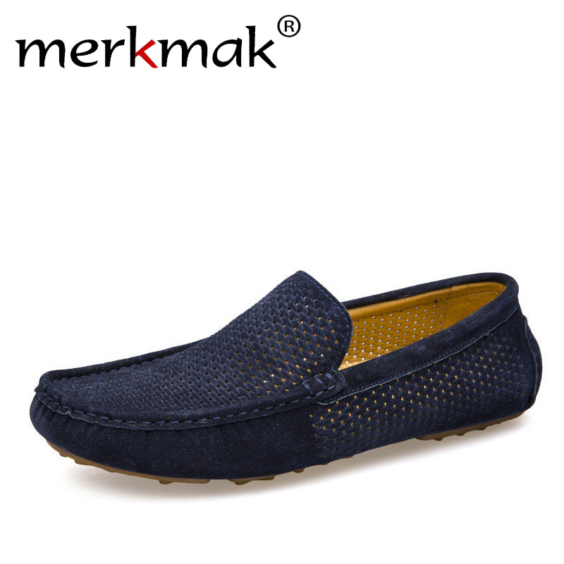Fashion Classic Business Men's Leather Shoes Comfort Slip-On Moccasin Loafers Driving Shoes