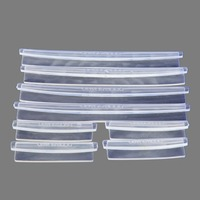 8pcs Car Door Protection Strip Clear Guards Strip Trim Molding Protection Scratch Protector Clear