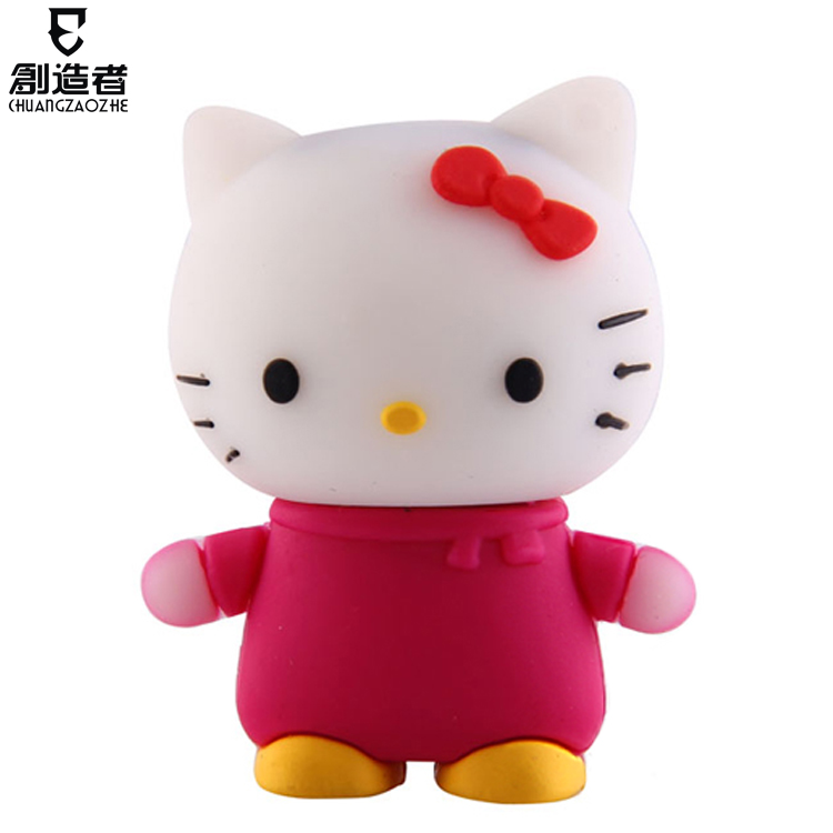 16g usb flash drive HELLO KITTY cartoon usb flash drive personalized gift