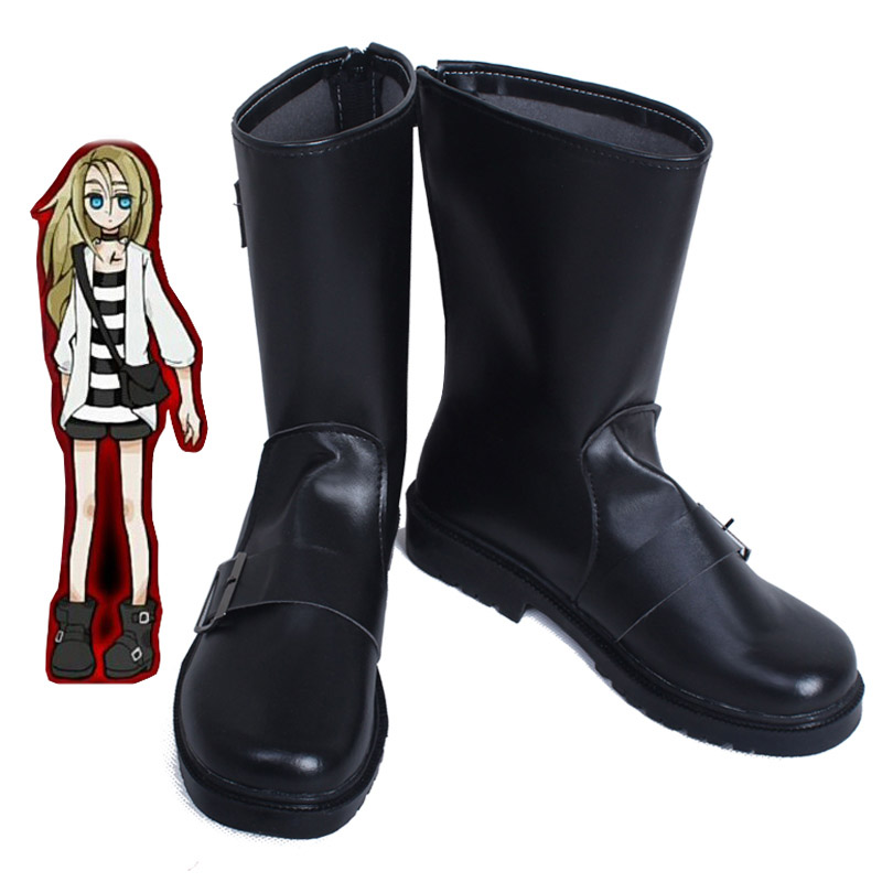 Ангелы смерти Исаак Rachel Гарднер Ray Косплэй Обувь Сапоги и ботинки для девочек ручной настройки нового ...
