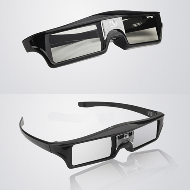 1pc Original Shutter Active 3D glasses for infocus DLP-LINK Projector with retail box & Automatic shut-down