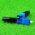 KELUSHI 100 unids/lote Fría FTTH Conector Rápido De Fibra Óptica SC SC Monomodo UPC Conector Rápido