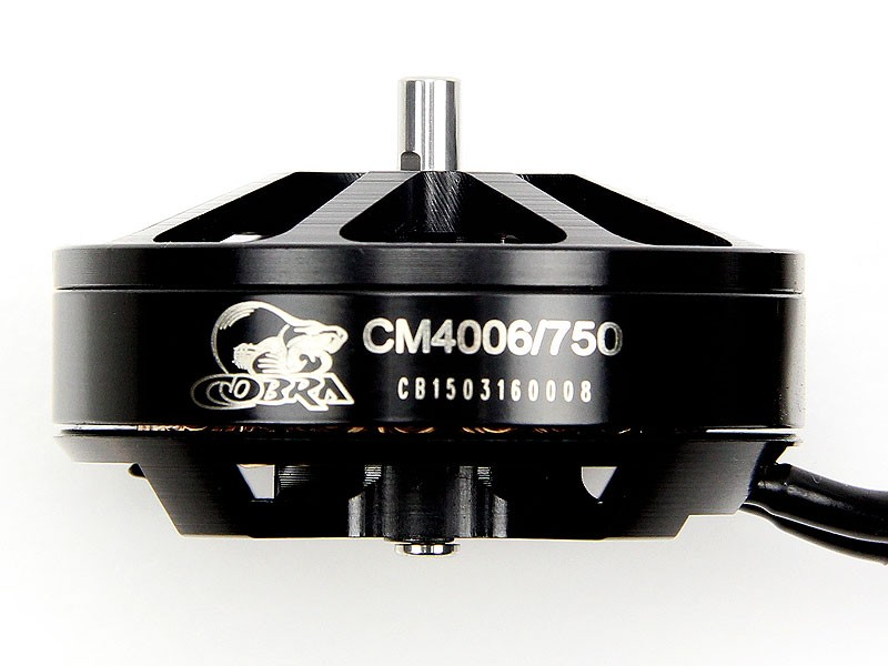 Cobra Motor CM4006-750, Kv=750, For Professional UAV, Drone, and Multirotor, Free Shipping cobra ru 775ct