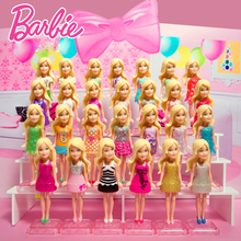 18 Pcs Original Mini Barbie Dolls Clothes Rings Limited Collector Editions Model Action Toy Figures Baby Toys For Girls DNC88