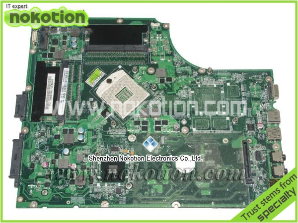 NOKOTION Laptop Motherboard for acer 7745 MBPTZ06001 DA0ZYBMB8E0 DDR3  Mainboard free shipping