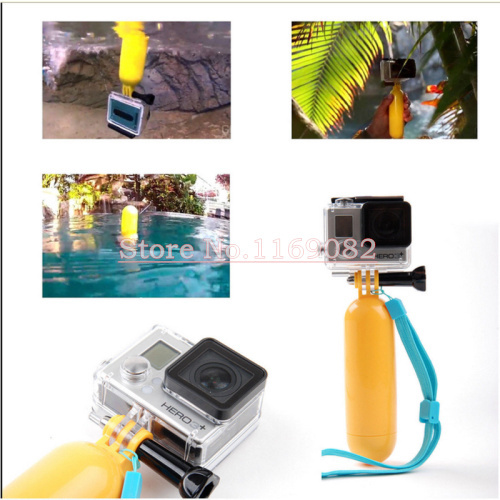 Gopro Accessories Floating Handle Grip mount for GoPro Hero4 Black/Silver Hero 4/3+/3/2