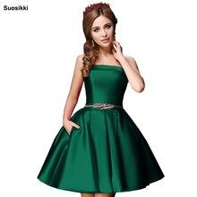 c6dbe2f48e Suosikki Bez Ramiączek Koktajlu Mini Suknia 2018 Suknia Homecoming Suknie  Vestido De Festa Longo Prom Dress