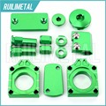 GREEN MX Motocross Offroad Bling Kits for KAWASAKI KXF250 KXF 250 2004 2005 2006 2007 2008 2009 2010 04 05 06 07 08 09 10