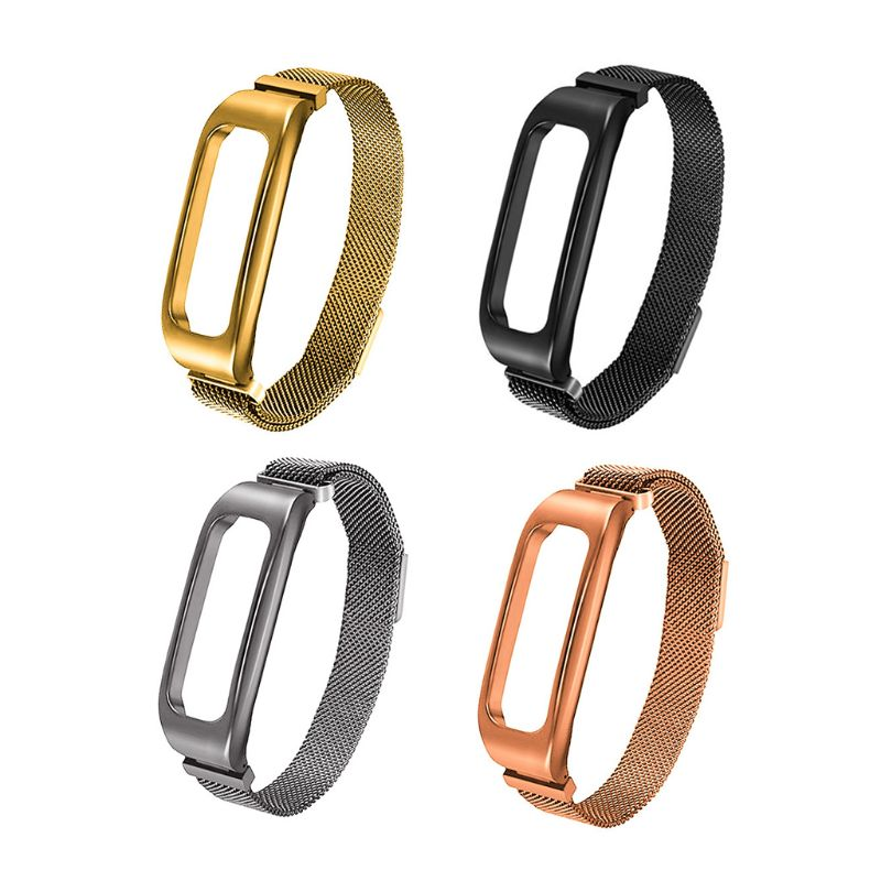 1PC Fashion Milanese Stainless Steel Watchband Wrist Band Replacement Magnetic Strap Band For Huawei 3e/ Honor Band 4