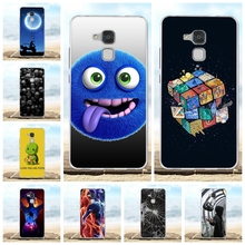 For Huawei Honor 5C Case Ultra-thin Soft TPU Silicone 7 Lite Cover Beach Patterned GT3 Bumper Shell