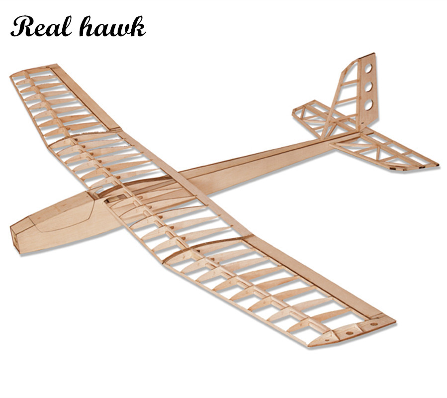 RC Plane Laser Cut Balsa Wood Airplane Red wild goose motor glider Wingspan 1600mm Balsa Wood Model Building Kit цена