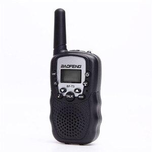 Image 2 - BF T3 для переносного приемо передатчика комплект из 2 частей Baofeng T388 PMR GMRS мини ручной для переносного приемо передатчика детей Беспроводной радио гражданского дорожная сумка