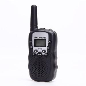 Image 2 - BF T3 Walkie talkie 2 Delige Set Baofeng T388 PMR GMRS Mini Handheld Walkie talkie Kinderen Draadloze Radio Civiele reizen