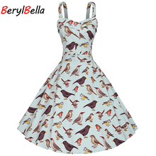 de Berylbella vestidos algodão