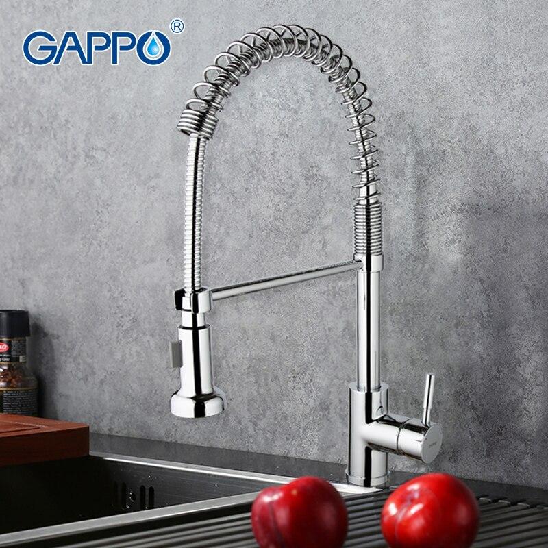 GAPPO robinets de cuisine robinet d'évier de cuisine robinet mitigeur de cuisine robinet d'eau filtrée robinet d'eau en laiton robinet mitigeur chromé