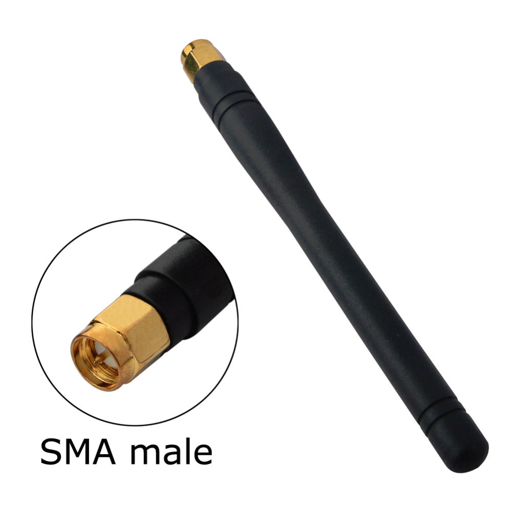100pcs/lot 2-3dbi <font><b>315MHZ</b></font> <font><b>Antenna</b></font> with SMA Male Straight Connector 11cm Aerial image