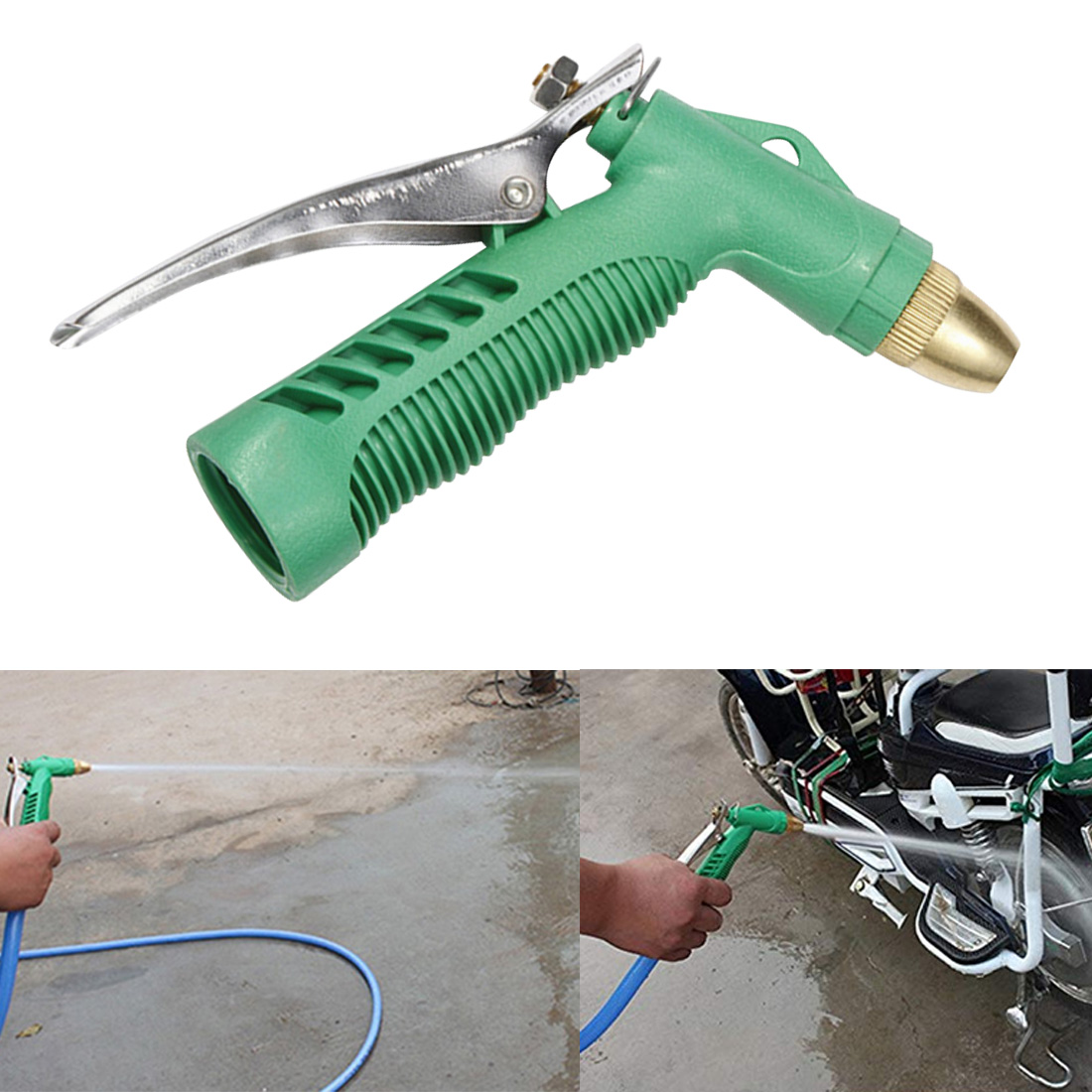 Garden Hose nozzles Water for Gun hose Sprayer for Car Wash Cleaning Watering Lawn and Garden Sprinkle