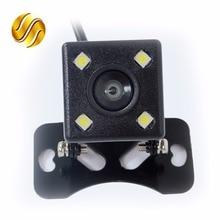 170 Grados 4 LED de Visión Nocturna de Visión Trasera Cámara de Vídeo HD A Prueba de agua Auto Monitor de Aparcamiento Revertir CCD