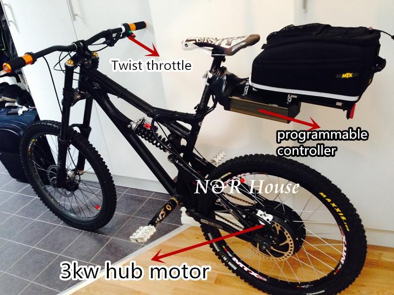 3kw motor on the bike
