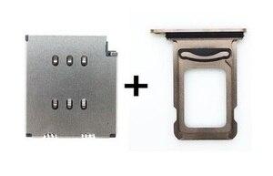 Image 3 - 10 пара/лот считыватель sim карт Dua + двойной лоток для sim карт для iPhone XSMAX XS Max