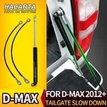 Амортизатор задней двери багажника для Isuzu DMAX 2012++ газ из нержавеющей стали легко замедляется для D-Max