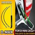 Nieuwe Achter Gate Achterklep Strut Shock Voor Isuzu DMAX 2012 + 2015 + Rvs Gas Gemakkelijk Vertragen Voor d-Max