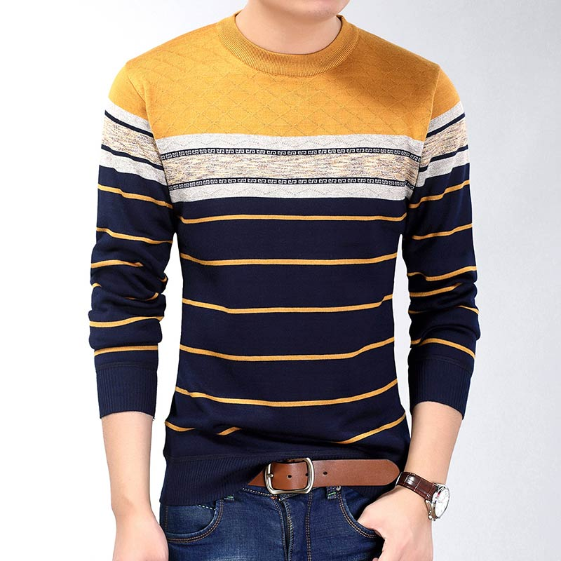 2019 fashion casual clothing social fitness bodybuilding striped t shirts men t-shirt jersey tee shirt pullover sweater camisa 5