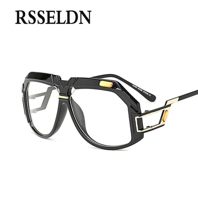 RSSELDN Newest Transparent Glasses Women Brand Designer Frames Men ...