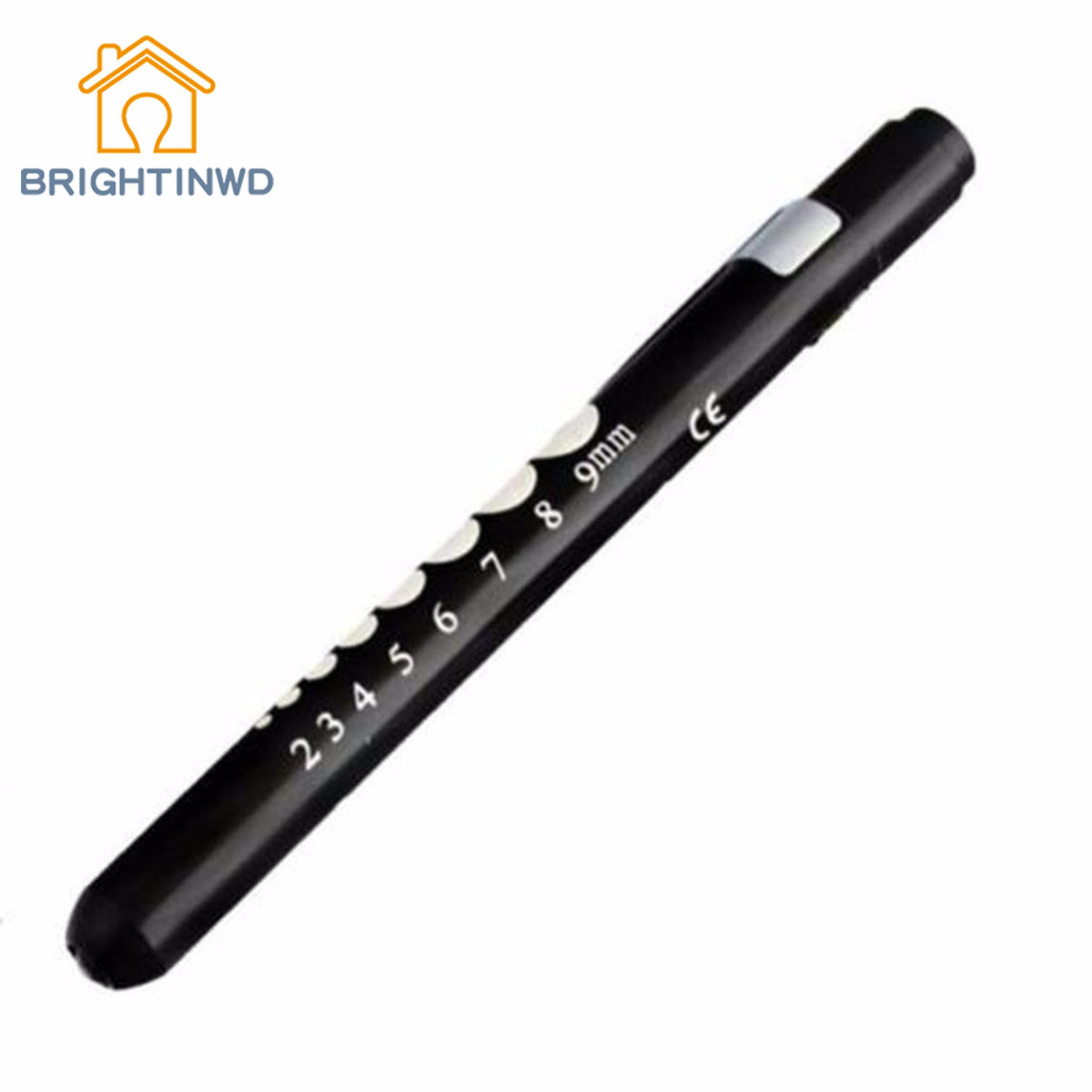 BRIGHTINWD Portable Led Medical Penlight Torch Lamp With Scale Surgical First Aid Nurse Doctor Emergency Pen Light ...