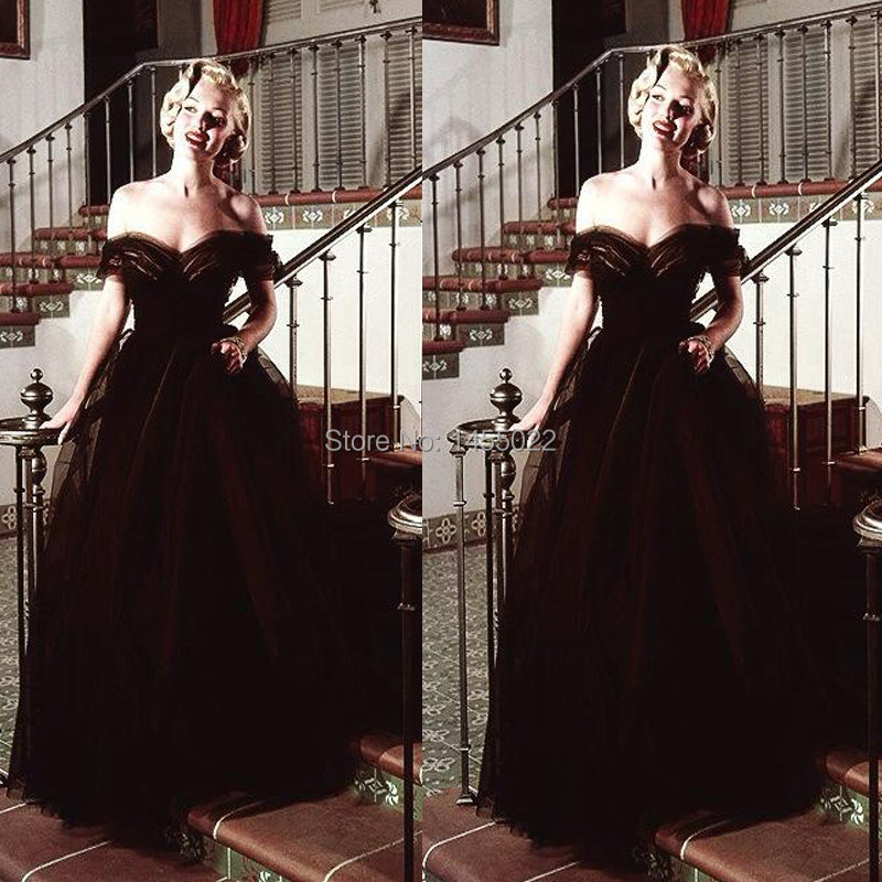 Gothic style evening dresses
