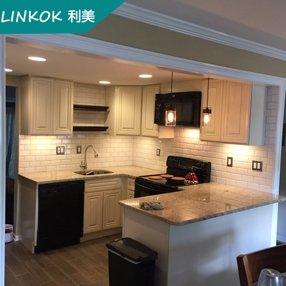 Unfinished Wood Kitchen Cabinets Wholesale: Linkok Furniture Wholesale Cheap China Blinds Factory