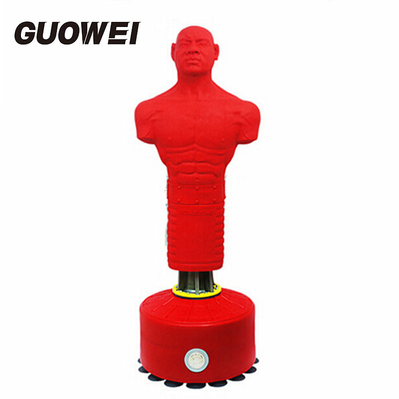 Speed Boxing humanoid Suckers vertical Punching Bag for men Boxing Sandbag silastic Punching Bag for CrossFit Fitness Equipment professional fitness boxing pear speed ball set boxing punching speed bag base set accessory pera boxeo training equipment tools
