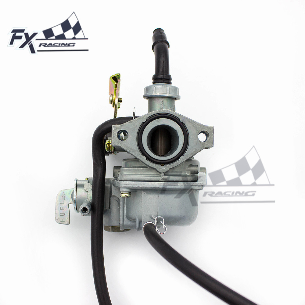 PZ19mm Motorcycle ATV Dirt Bike Carburetor For 19MM Motorcycles Go Kart Carb Scooter 2T Choke 50cc 70cc 90cc 110cc 125cc