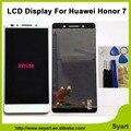 Novo para huawei honor 7 display lcd + de tela de toque 100% nova acessórios substituição digitador assembléia sem quadro 5.2 polegada