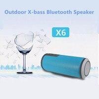 W-Roi X6 10 W HIFI Étanche Bluetooth Haut-Parleur Mini Portable En Plein Air Vélo Sport Stéréo Sans Fil Haut-Parleur pour Mobile téléphones